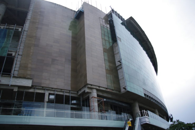 Lippo Malls at Kemang Village, honeycomb panel