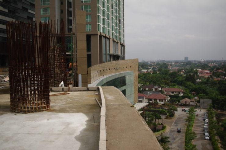 Indonesia, honeycomb panel